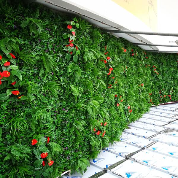 太兴九龙冰室 仿真植物墙