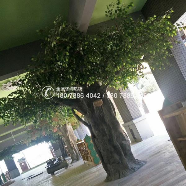包柱榕树 仿真树