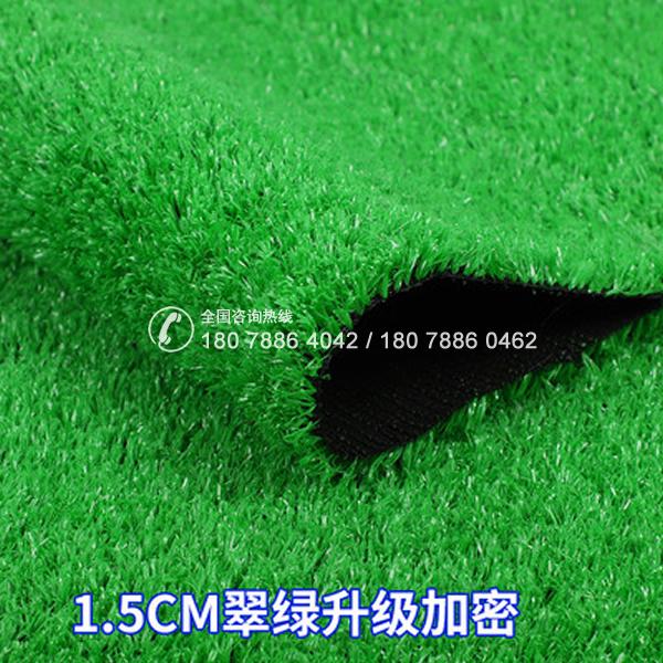 人造草坪 1.5CM翠绿升级加密