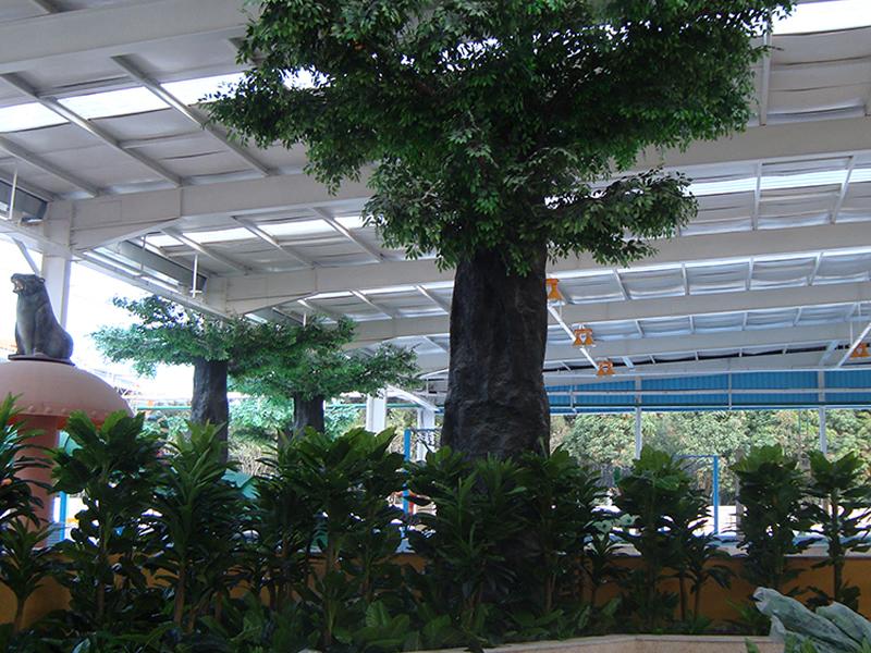 福州水乐园 仿真树