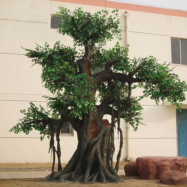 仿真古榕树