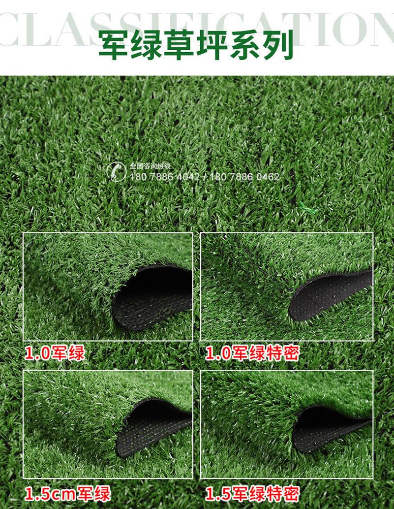 人造草坪 军绿草坪系列
