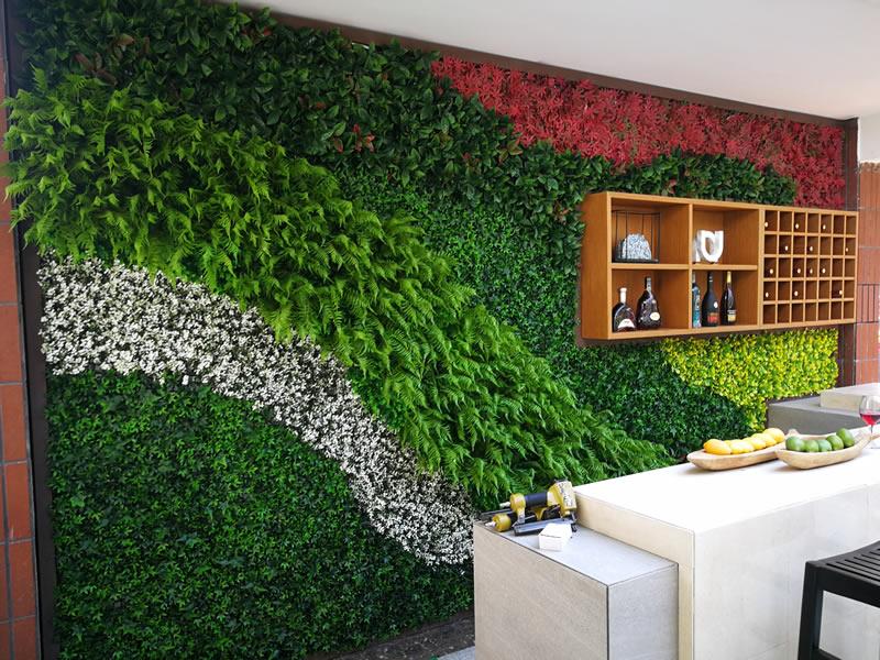 海伦堡-流金岁月 仿真植物墙