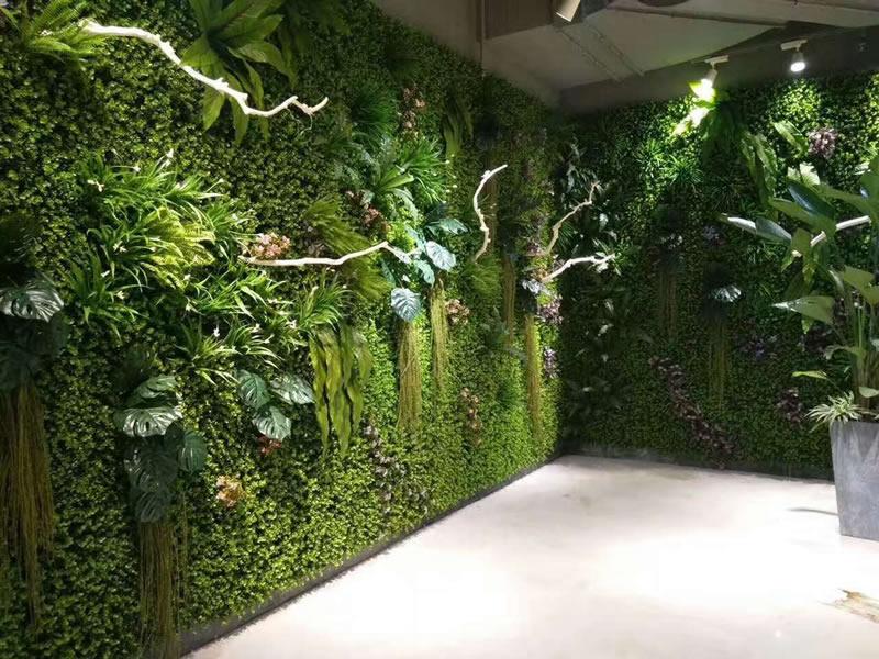 汕头星湖生物科技 仿真植物墙
