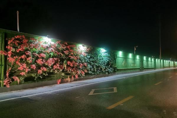 """武汉工地围挡绿化""""绿色行动""""启动  两湖隧道东湖段生态围挡正式升级"""