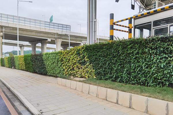 仿真植物墙效果图常用构图技巧