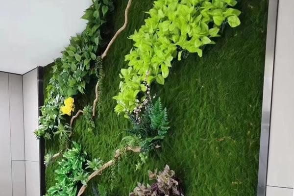 植物围档巧妙运用更有利于日常宣传