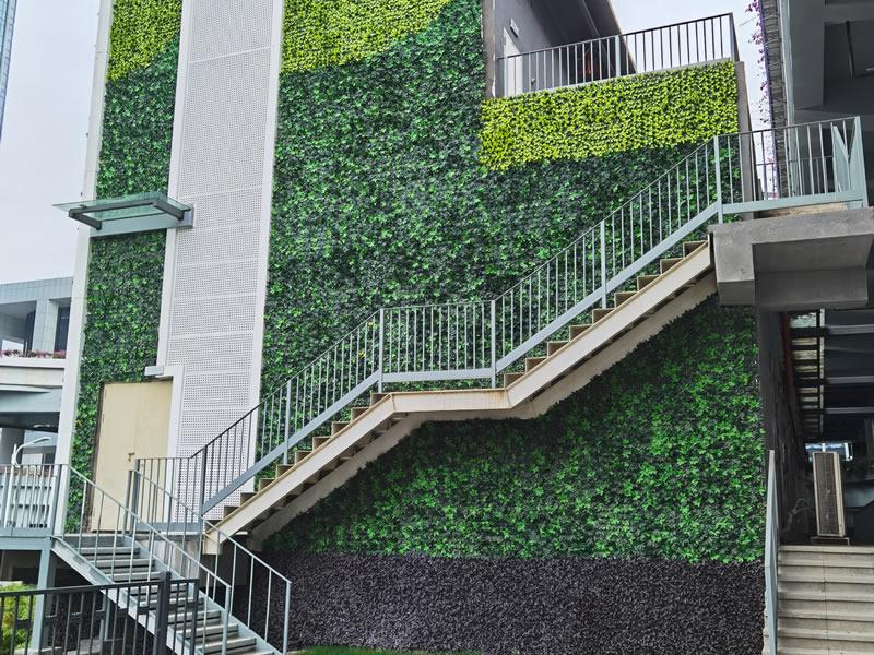 珠海垂直绿化-横琴口岸