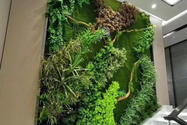 浅谈植物墙垂直绿化带给我们的体验