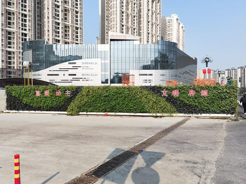 植物墙围挡公司